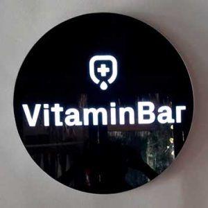 Letrero Tulum vitaminbar
