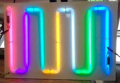 Muestrario Colores Neon