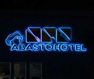 Abastohotel Letrero Luz Indirecta