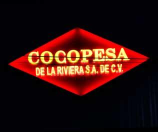 Cocopesa Tulum Letrero