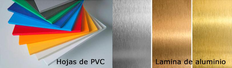 Hojas Pvc Hojas Aluminio