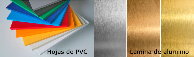 pvc aluminio