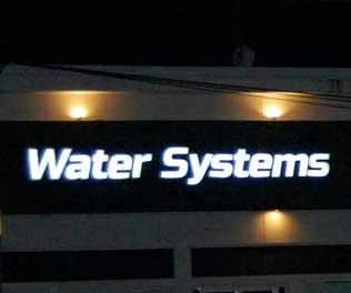 Water Systems Letrero Puerto Morelos