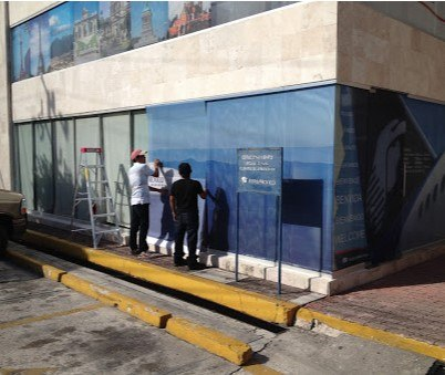 Vinil Microperforado Cancun